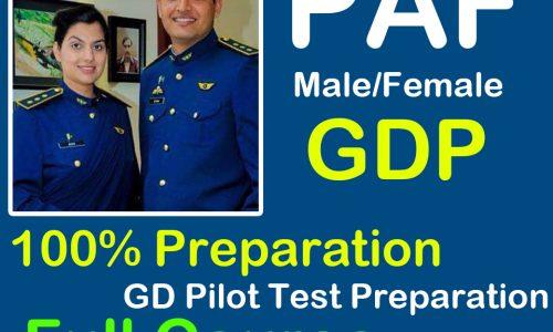 GDP Test Preparation Course