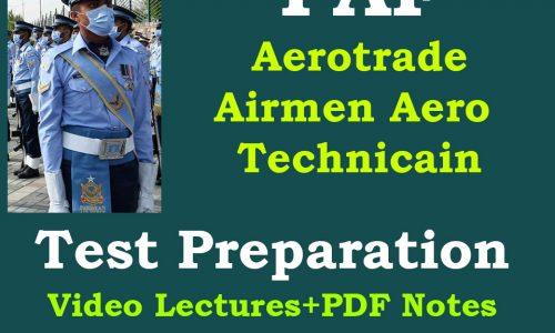 PAF Aerotrade online Test Preparation