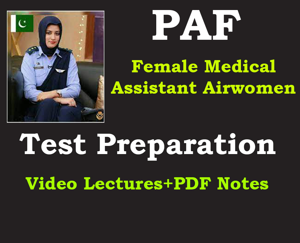 PAF Medical Assistant Online Test Preparation